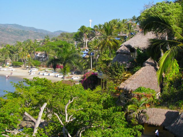 View from Villa Amor, Sayulita Mexico