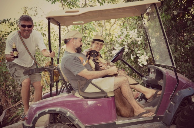 Golf cart Sayulita