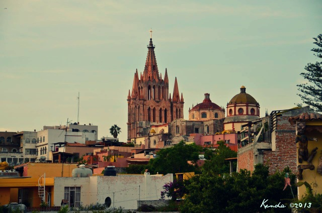 View of La Parroquia from our roof