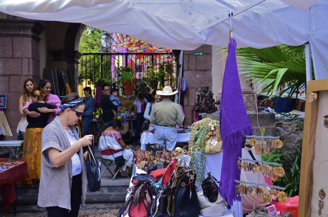 Blog- artisan faire was held at the Instituto de Allende