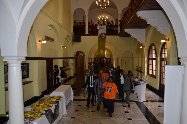Inside parliament Cape town