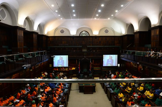 the National Assembly Room Cape Town