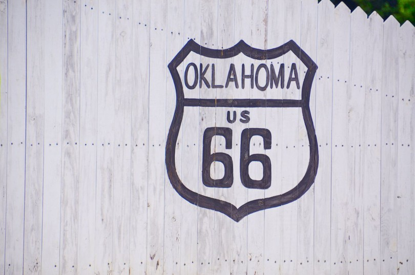 Gettin' Our Kicks on Route 66 from Missouri to Sapulpa, Oklahoma
