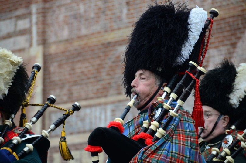 J-ville Christmas Parade - Bagpipers
