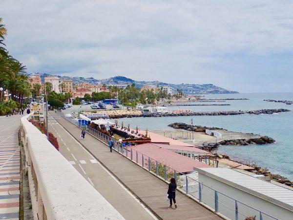 Coastline of Liguria